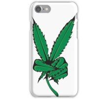 WHAT IS THIS A FUCKING WEED PEACE SIGN iPhone Case/Skin