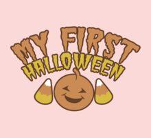 My First Halloween! with pumpkin One Piece - Long Sleeve