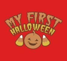 My First Halloween! with pumpkin Kids Tee