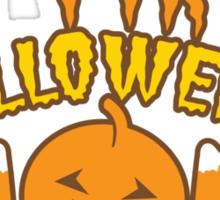 My First Halloween! with pumpkin Sticker