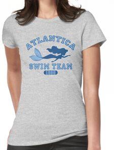 Atlantica Swim Team Womens Fitted T-Shirt