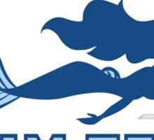 Atlantica Swim Team Sticker
