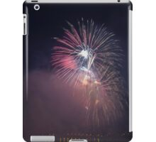Fireworks competition at night iPad Case/Skin