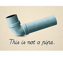 Ceci n'est pas une pipe Photographic Print