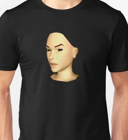 BLANK BANSHEE HEAD WITH EYES GOUGED OUT Unisex T-Shirt