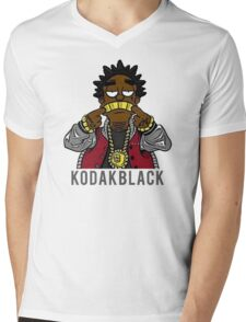 KODAK BLACK Mens V-Neck T-Shirt