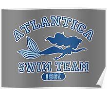 Atlantica Swim Team Poster