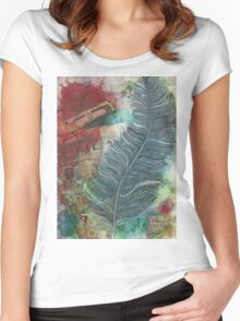 Affirmations of a Beautiful Life Women's Fitted Scoop T-Shirt