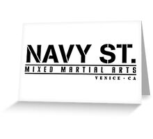 NAVY STREET Greeting Card