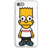 Bart Supreme iPhone Case/Skin