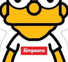 Bart Supreme Sticker