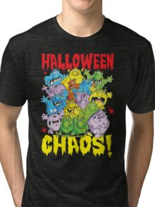 Halloween Chaos! Tri-blend T-Shirt