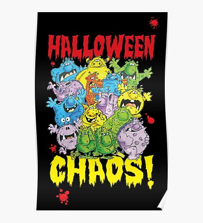 Halloween Chaos! Poster