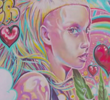 YOLANDI VISSER Sticker