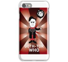 GOTH DR WHO! iPhone Case/Skin