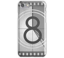 Vintage Countdown Film iPhone Case/Skin
