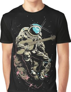 astronaut AND MUSIC Graphic T-Shirt