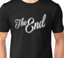 The End Vintage Film Frame Unisex T-Shirt