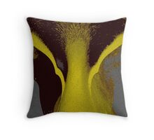 Yellow Emotion Throw Pillow