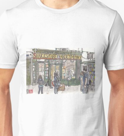 Shakespeare & Co. in Paris Unisex T-Shirt