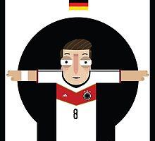 Mesut Ozil - Germany by Gary Ralphs
