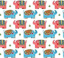 The Elephant Pattern by haidishabrina