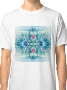 Vibrant Colorful Butterfly Pattern Classic T-Shirt