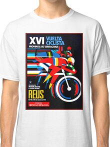 VUELTA CICLISTA; VintageBicycle Racing Advertising Print Classic T-Shirt