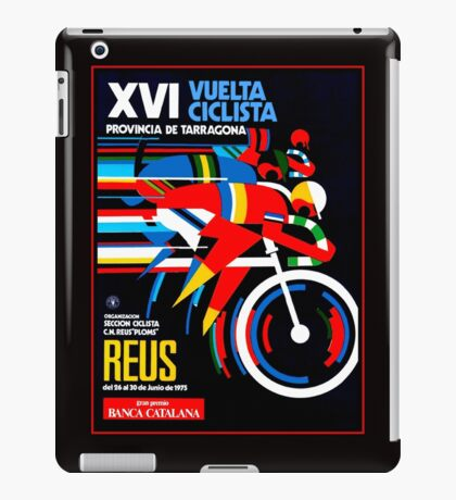VUELTA CICLISTA; VintageBicycle Racing Advertising Print iPad Case/Skin