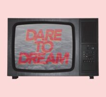 Dare To Dream by TypographyThomas One Piece - Long Sleeve
