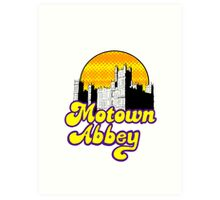 Motown Abbey Art Print