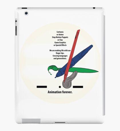 Animation forever iPad Case/Skin