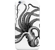 Vintage Octopus iPhone Case/Skin