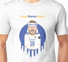 Sergio Ramos- Real Madrid Unisex T-Shirt