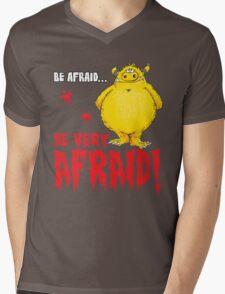Be afraid Simon Mens V-Neck T-Shirt