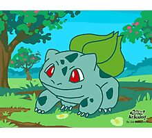 Bulbasaur Artwork (Pokemon Art Academy) Photographic Print