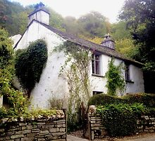 Dove Cottage, Wordsworth's Home, Grasmere, UK by GeorgeOne