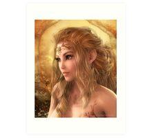 Elven Queen Art Print