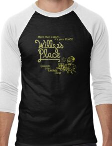 Willy's Place Men's Baseball ¾ T-Shirt