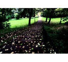 Rainy October Afternoon, North of England Photographic Print