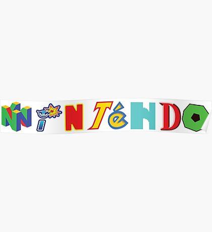 Nintendo Franchises Poster