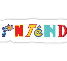 Nintendo Franchises Sticker