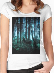 Enchanted Forest Women's Fitted Scoop T-Shirt