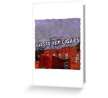 Ybor City Cigars Greeting Card