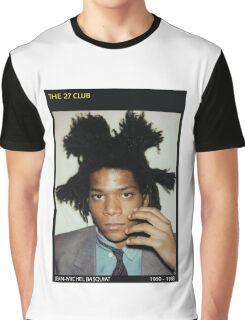 BASQUIAT-THE 27 CLUB Graphic T-Shirt