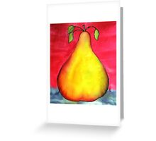 The Pear Greeting Card