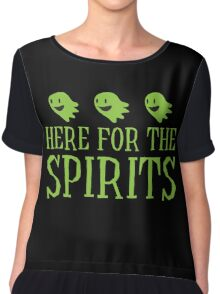 Here for the SPIRITS funny Halloween design Chiffon Top
