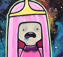 Princess Bubblegum Spaces Out by Stolensouljess
