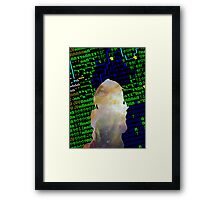 Pixel World Framed Print