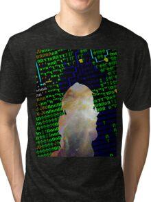Pixel World Tri-blend T-Shirt